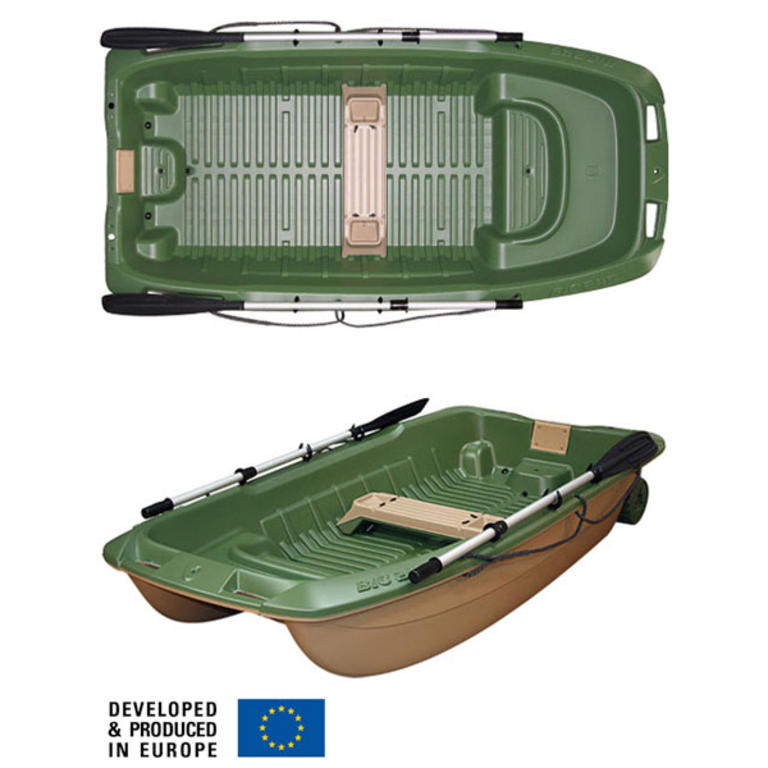 BIC SPORT(ビックスポーツ) Sportyak 245 Explorer Green / Beige [B0202] ヨット・ボート ボート BICスポーツヤック