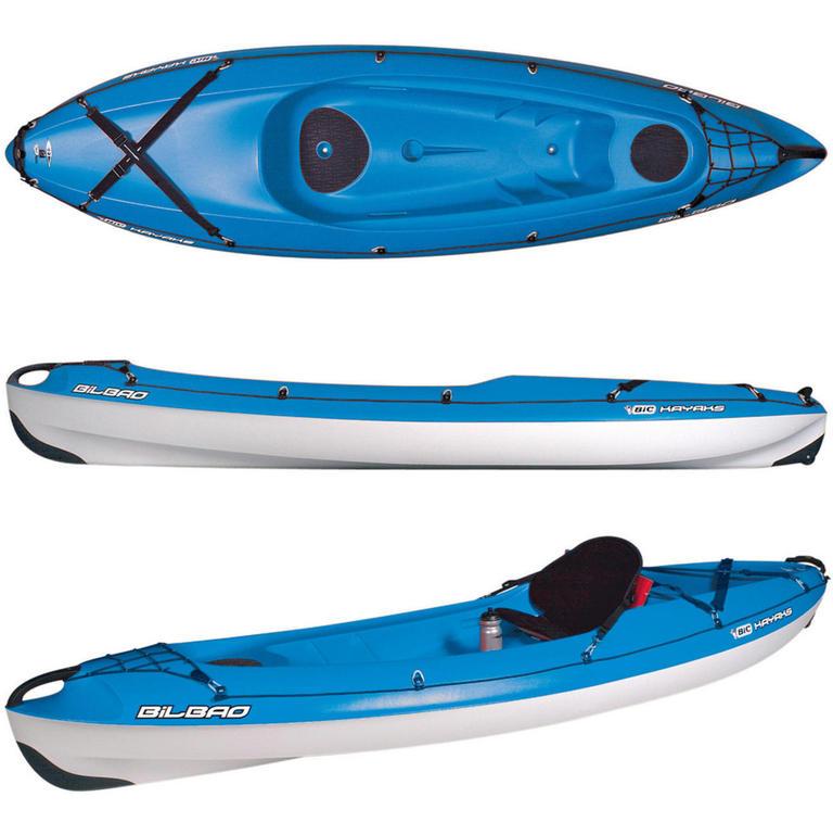 BIC SPORT(ビックスポーツ) Bilbao blue 1人乗りシーカヤック [Y0331] カヤック カヤック本体 シットオン