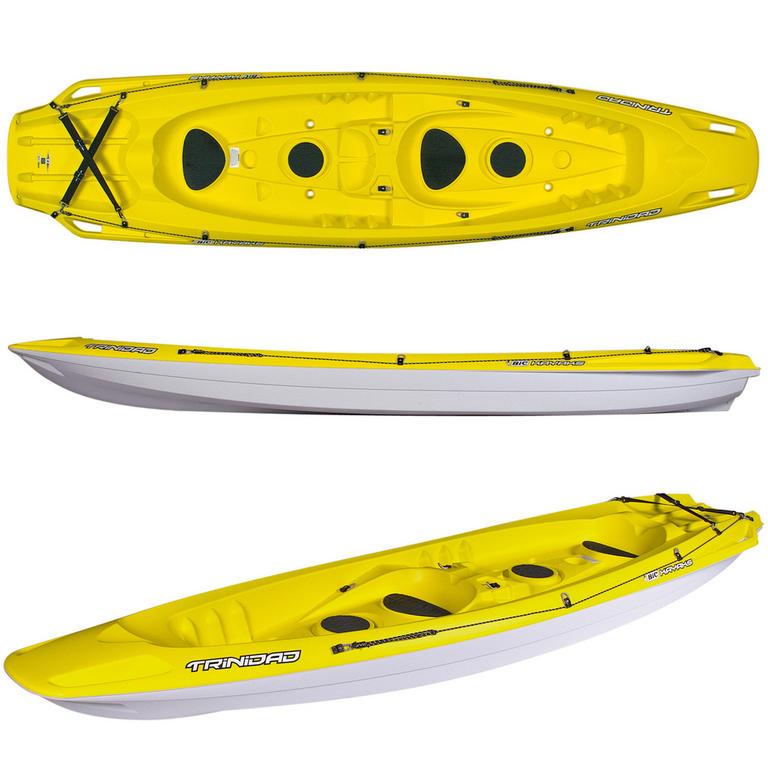 BIC SPORT(ビックスポーツ) Trinidad Yellow 2人乗りシーカヤック [Y0900] カヤック カヤック本体 シットオン