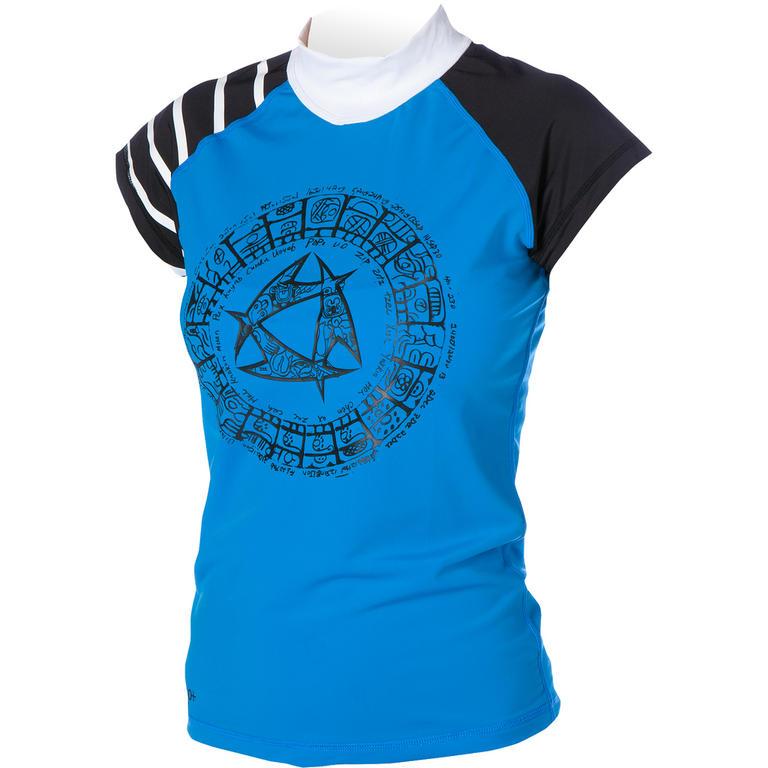 MYSTIC(ミスティック) Maori Rashvest Capsleeves ラッシュガード レディース 半袖 UVカット [35001.130245] レディース マリンスポーツウェア ラッシュガード