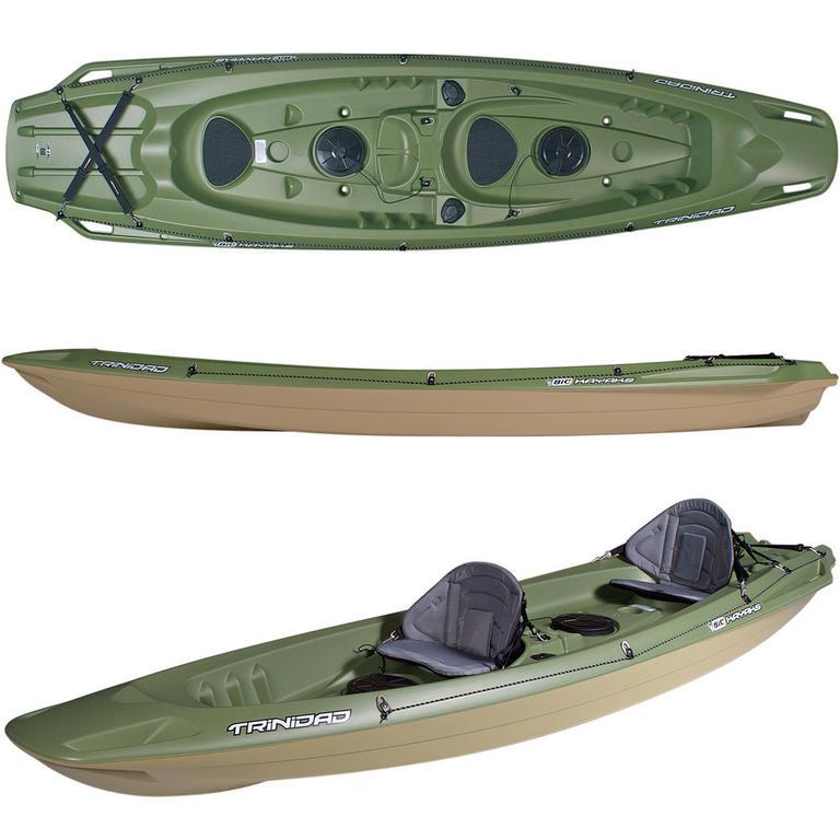 BIC SPORT(ビックスポーツ) Trinidad Fishing Green 2人乗りフィッシングカヤック [Y0902] カヤック カヤック本体 フィッシング