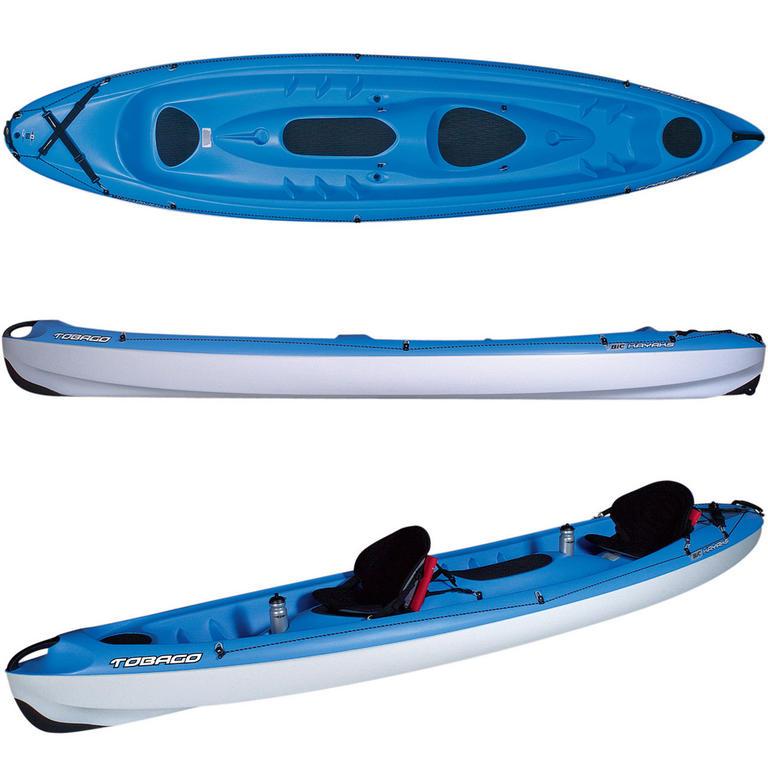 BIC SPORT(ビックスポーツ) Tobago Blue 2人乗りシーカヤック [Y0425] カヤック カヤック本体 シットオン