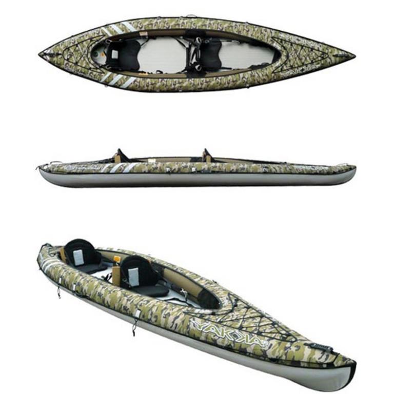 BIC SPORT(ビックスポーツ) YAKKAIR HP2 FISHING 2人乗りインフレータブルカヤック [Y1004] カヤック カヤック本体 インフレータブル