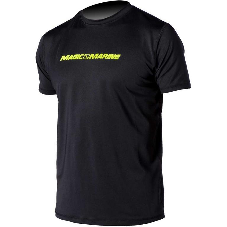MAGIC MARINE(マジックマリン) CUBE QUICK DRY SS 半袖ロゴ吸汗速乾シャツ [15001.130220] メンズ マリンスポーツウェア ラッシュガード