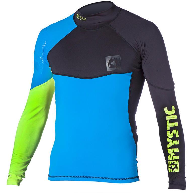 MYSTIC(ミスティック) Crossfire Rashvest L/S ラッシュガード メンズ 長袖 UVカット [35001.150460] メンズ マリンスポーツウェア ラッシュガード
