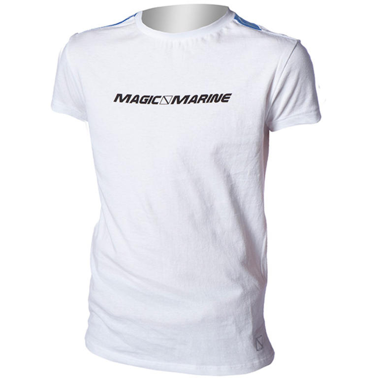 MAGIC MARINE(マジックマリン) LEEWARD TEE MEN & JR クルーネックロゴTシャツ [15105.130200] ジュニア キッズファッション ポロ、Tシャツ
