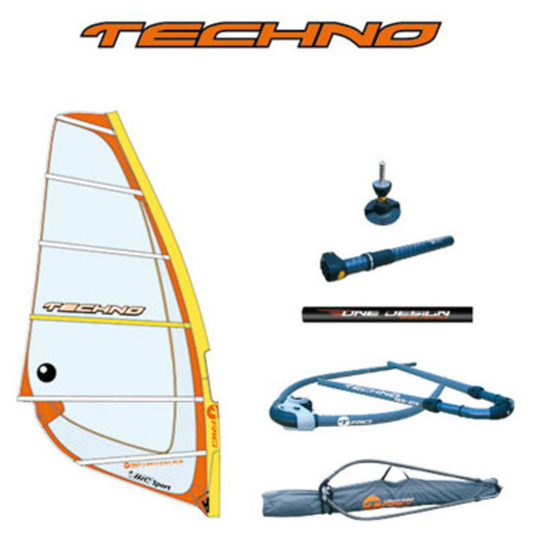 BIC SPORT(ビックスポーツ) Techno 6.5m2 [100357] ボード ウィンドサーフ リグセット