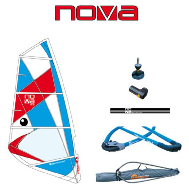 BIC SPORT(ビックスポーツ) Nova 5,5 m2 [100354] ボード ウィンドサーフ リグセット