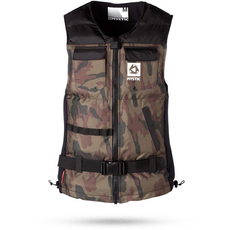 MYSTIC(ミスティック) Voltage Wakeboard vest フロントジップインパクトベスト [35005.140330] メンズ マリンスポーツウェア インパクトベスト・浮力体