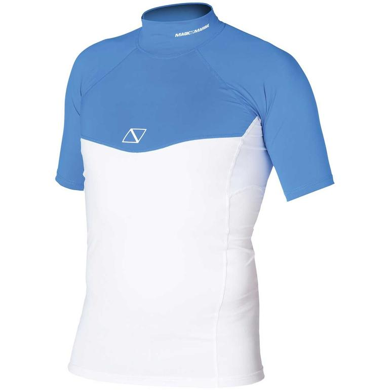 MAGIC MARINE(マジックマリン) ENERGY RASHVEST S/S MEN ラッシュガード メンズ 半袖 UVカット [15001.150130] メンズ マリンスポーツウェア ラッシュガード