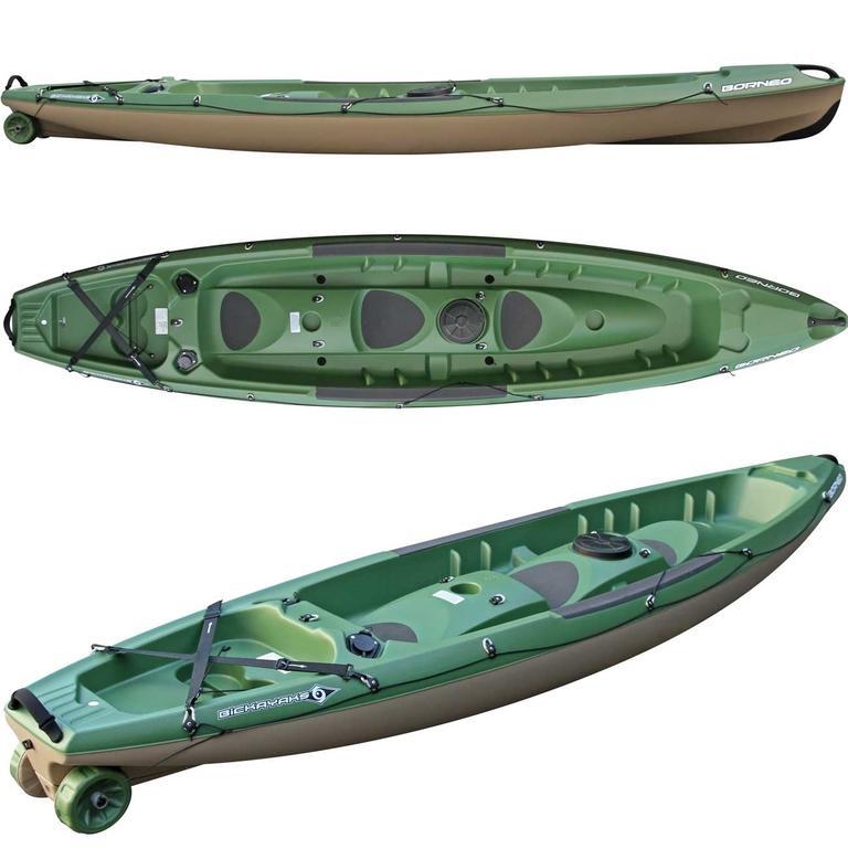 BIC SPORT(ビックスポーツ) Borneo Fishing 2人乗りフィッシングカヤック [100095] カヤック カヤック本体 フィッシング