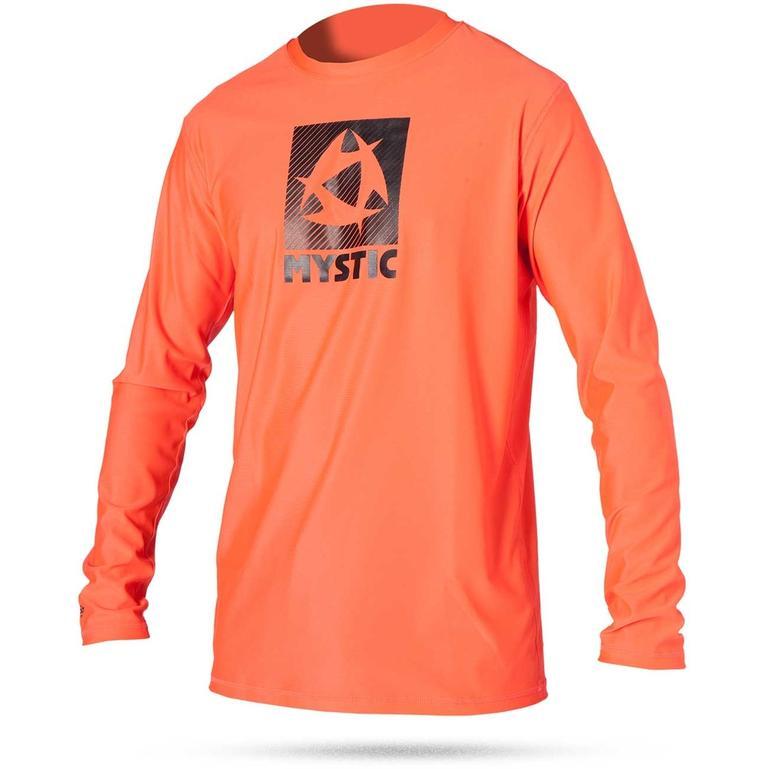 MYSTIC(ミスティック) Star Quickdry L/S 長袖ロゴ吸汗速乾シャツ [35001.150480] メンズ マリンスポーツウェア ラッシュガード