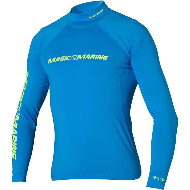 MAGIC MARINE(マジックマリン) CUBE Rash vest L/S ラッシュガード メンズ 長袖 UVカット [15001.150135] メンズ マリンスポーツウェア ラッシュガード
