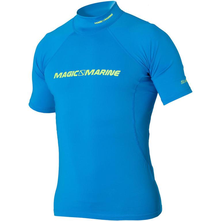 MAGIC MARINE(マジックマリン) CUBE Rash Vest S/S ラッシュガード メンズ 半袖 UVカット [15001.150140] メンズ マリンスポーツウェア ラッシュガード