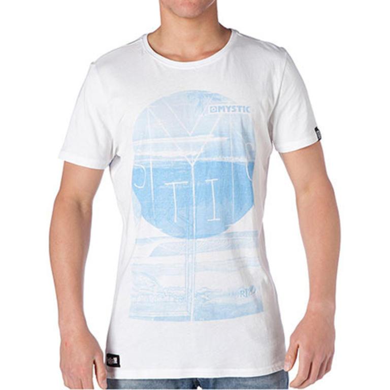MYSTIC(ミスティック) Riz'd Wave Tee クルーネックTシャツ [35105.140155] メンズ メンズファッション Tシャツ