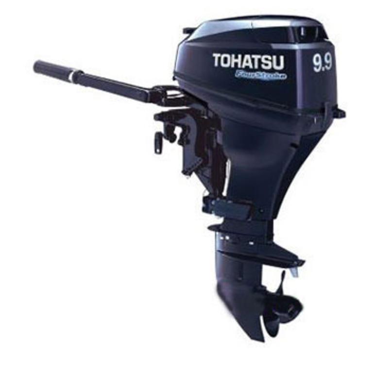 TOHATSU(トーハツ) MFS9.9E 4ストローク9.9馬力船外機 トランサムL [MFS9.9E] ヨット・ボート 船外機 4ストローク船外機