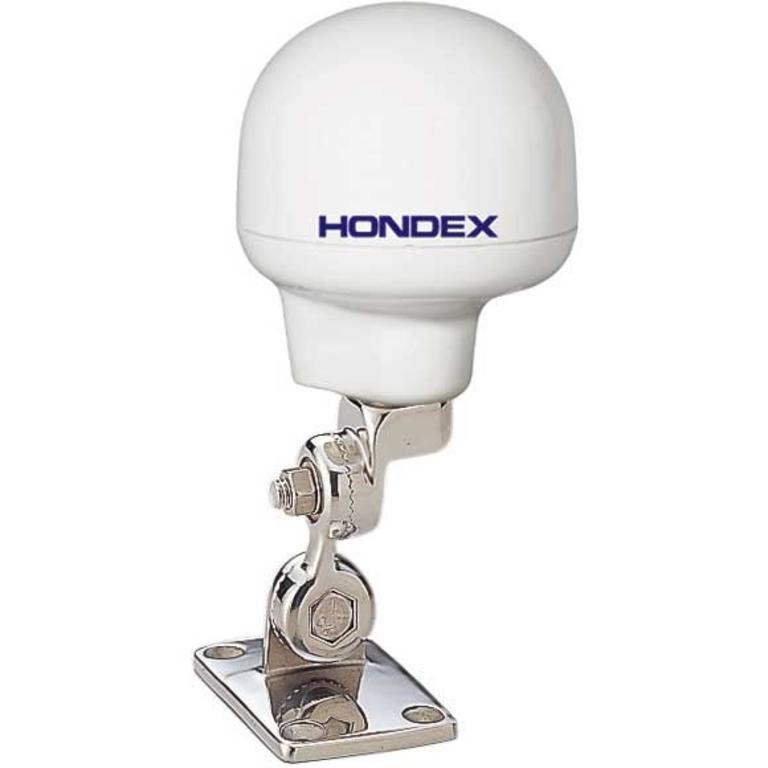 HONDEX(ホンデックス) DGPSアンテナ ステンレス製可倒式アンテナ台 AD01 [AD01] アクセサリー&パーツ ボートアクセサリー 魚探&GPS