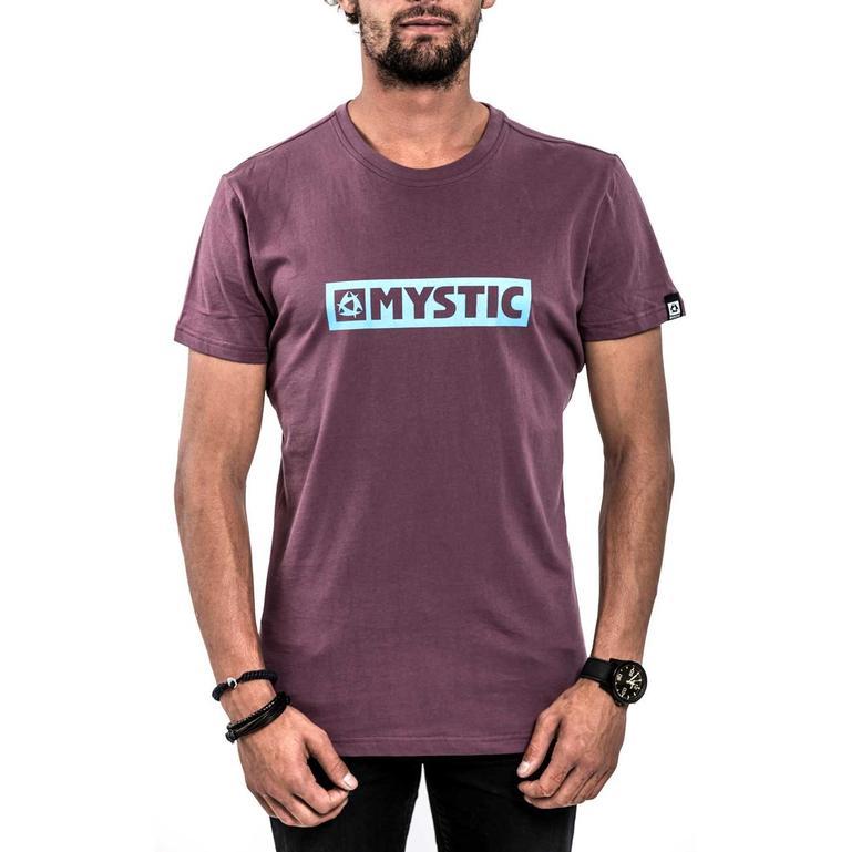 MYSTIC(ミスティック) Brand 2.0 Tee クルーネック ロゴTシャツ [35105.140060] メンズ メンズファッション Tシャツ