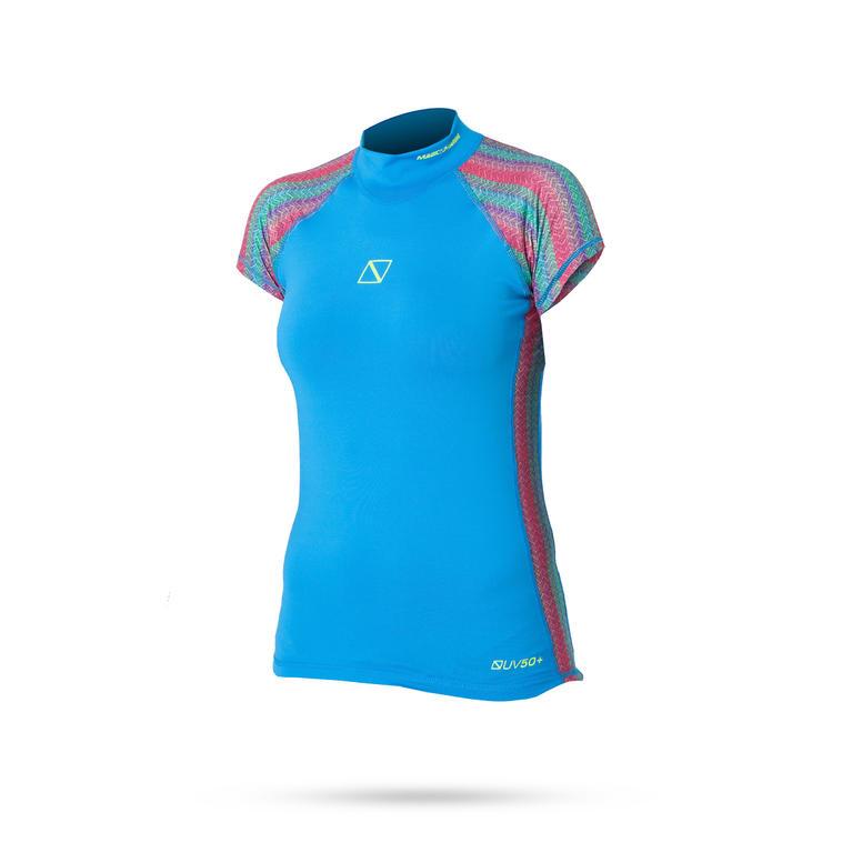 MAGIC MARINE(マジックマリン) ENERGY RASH VEST S/S Rash vest | women ラッシュガード レディース 半袖 UVカット [15001.160095] レディース マリンスポーツウェア ラッシュガード