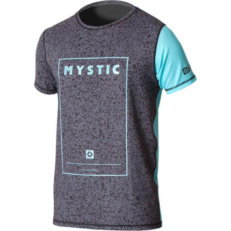 MYSTIC(ミスティック) BLOCK QUICKDRY S/S [35001.160270] メンズ マリンスポーツウェア ラッシュガード
