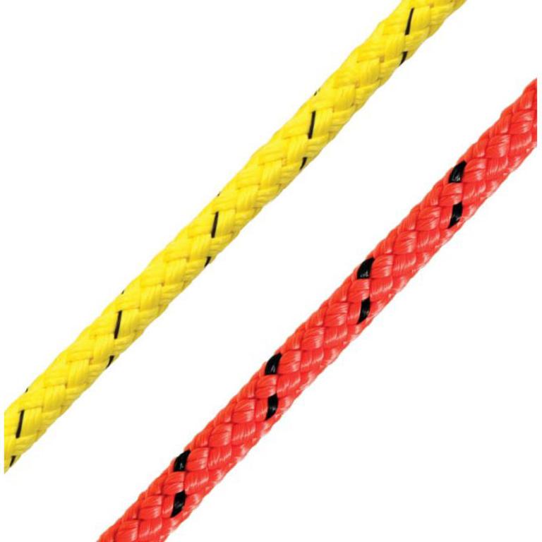 Marlow Ropes(マーロー) 8プレイト マストロン フローティング 6mm イエロー / 100mコイル [8 Plait Marstron] アクセサリー&パーツ ヨットアクセサリー ロープ・コード