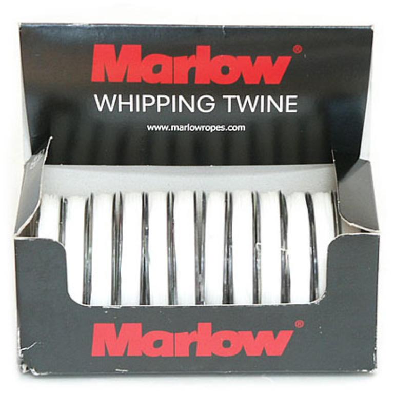 Marlow Ropes(マーロー) Whipping Twine No.4ホワイト / 1ケース 12個入り [WT4] アクセサリー&パーツ ヨットアクセサリー ロープ・コード