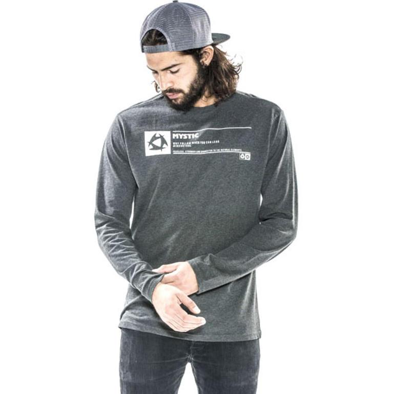 MYSTIC(ミスティック) ISOLATION TEE - ANTRA MELEE - 2017ロングスリーブTシャツ [35105.170065] メンズ メンズファッション Tシャツ
