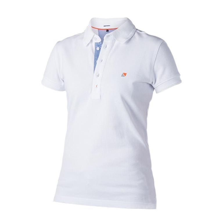 MAGIC MARINE(マジックマリン) Gust Polo 無地ロゴ入り半袖ポロシャツ [15104.170510] レディース レディースファッション ポロシャツ