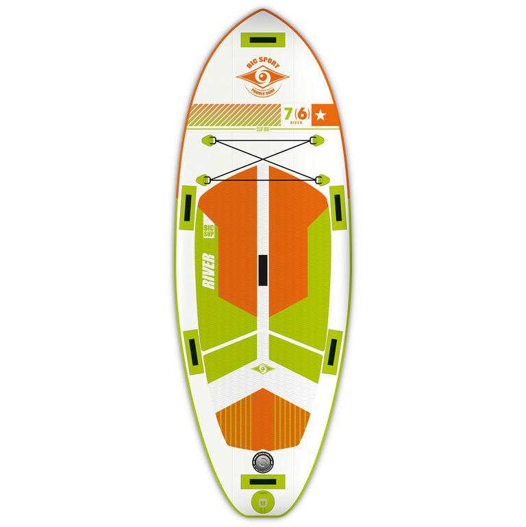 BIC SPORT(ビックスポーツ) 7'6'' RIVER AIR [101447] ボード スタンドアップパドル インフレータブル