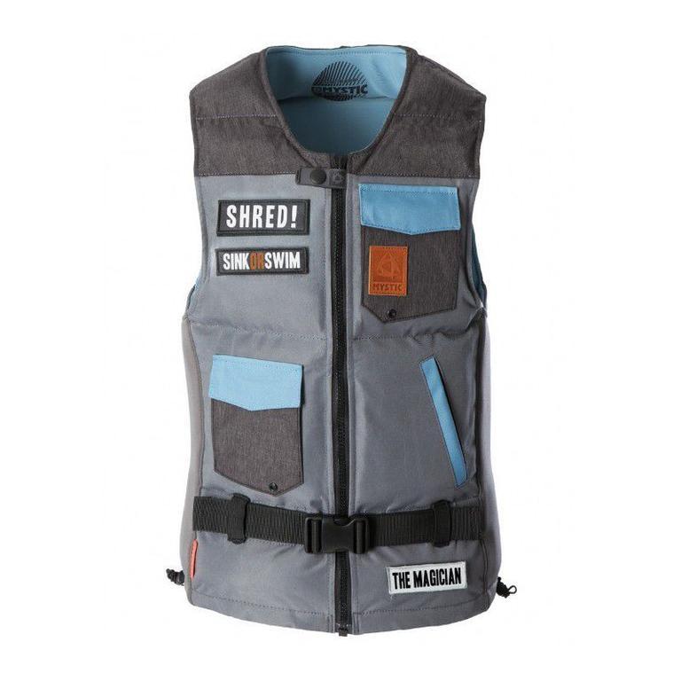MYSTIC(ミスティック) Magician Impact Vest Fzip ウエイクボードベスト [35205.180150] スポーツ・アウトドア ウェイクボード インパクトベスト・浮力体