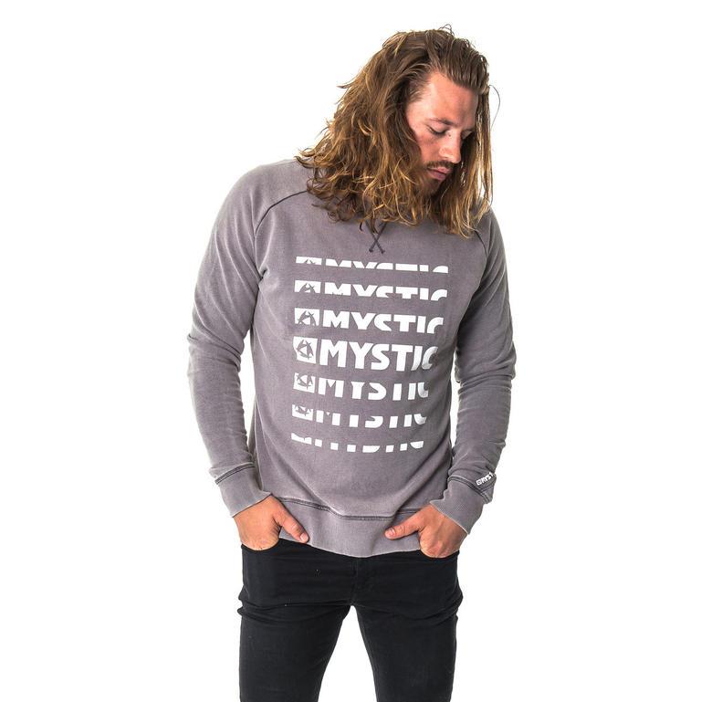 MYSTIC(ミスティック) CLASH SWEAT [35104.170225] メンズ メンズファッション スウェット・パーカー