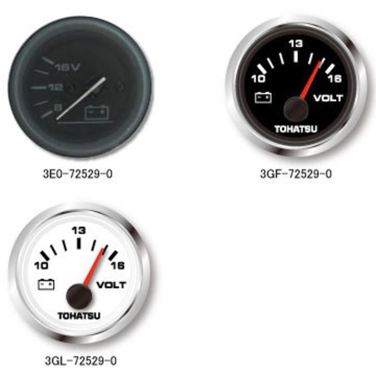 TOHATSU(トーハツ) ボルトメータ白 [3GL-72529-0] アクセサリー&パーツ ボートアクセサリー エンジン関連