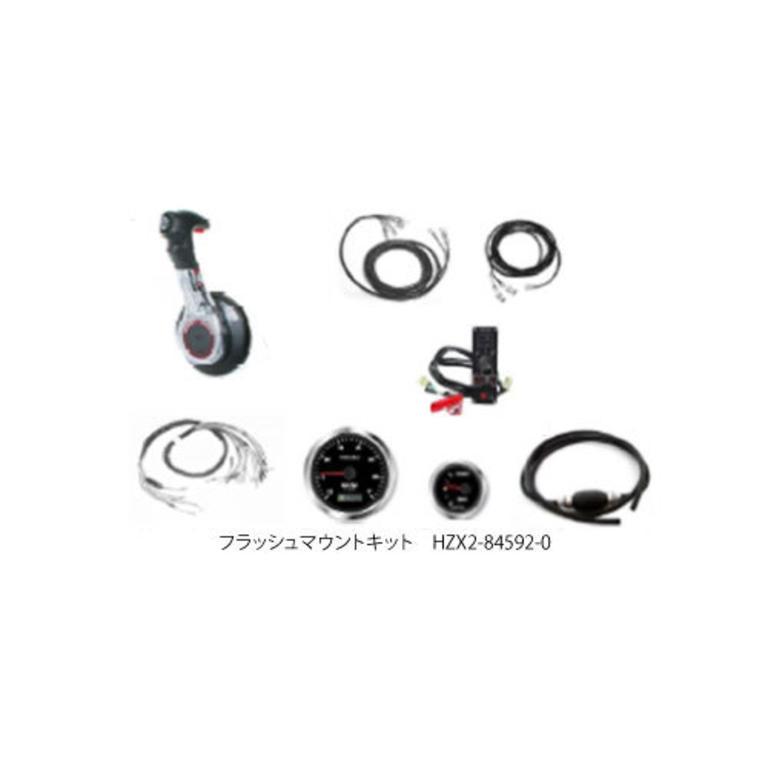 TOHATSU(トーハツ) フラッシュマウントキット(BFT75/90/150) [HZX2-84592-0] アクセサリー&パーツ ボートアクセサリー エンジン関連