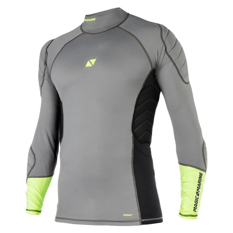 MAGIC MARINE(マジックマリン) Impact Shirt L/S 長袖ラッシュガード プロテクター付き ユニセックス [15001.180036] メンズ マリンスポーツウェア ラッシュガード