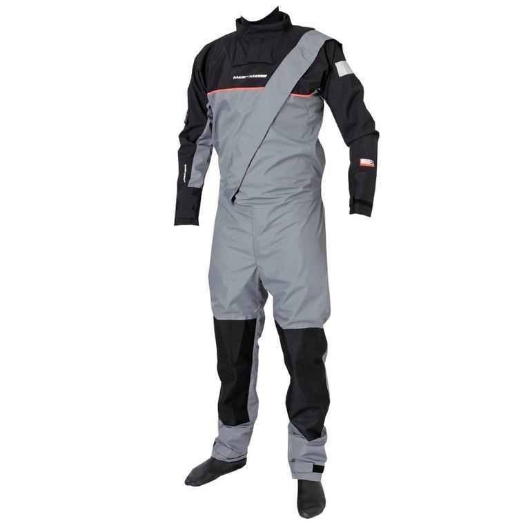 MAGIC MARINE(マジックマリン) Junior REGATTA BR DRYSUIT GREY シェルドライスーツ [15001.120010] ジュニア マリンスポーツウェア ドライスーツ