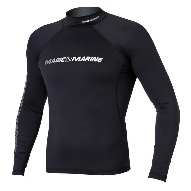 MAGIC MARINE(マジックマリン) CUBE RASH VEST LS ラッシュガード メンズ 長袖 UVカット [15001.120310] メンズ マリンスポーツウェア ラッシュガード