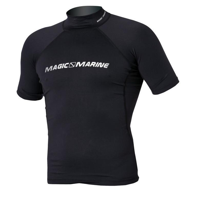 MAGIC MARINE(マジックマリン) CUBE RASH VEST SS ラッシュガード メンズ 半袖 UVカット [15001.120320] メンズ マリンスポーツウェア ラッシュガード