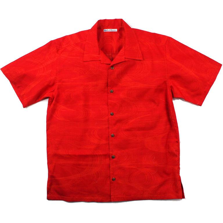 Made in Kamakura(メイドインカマクラ) 大きいサイズの和柄アロハシャツ KANZEMIZU [40] メンズ メンズファッション アロハシャツ