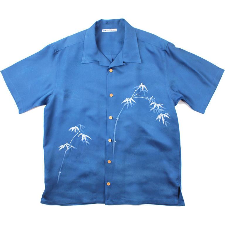 Made in Kamakura(メイドインカマクラ) 大きいサイズの和柄アロハシャツ WAKATAKE [34] メンズ メンズファッション アロハシャツ