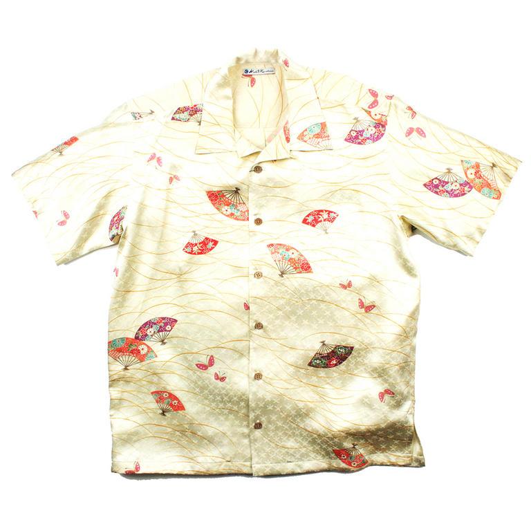 Made in Kamakura(メイドインカマクラ) 大きいサイズの和柄アロハシャツ OGI [27] メンズ メンズファッション アロハシャツ