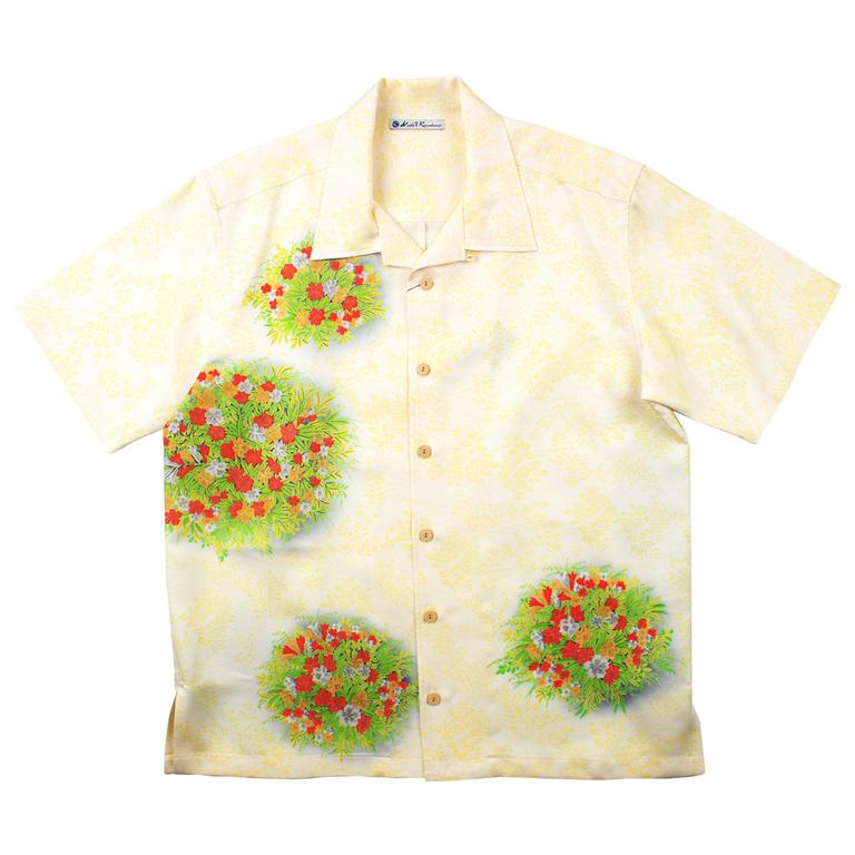 Made in Kamakura(メイドインカマクラ) 大きいサイズの和柄アロハシャツ TESSENKA S [39] メンズ メンズファッション アロハシャツ