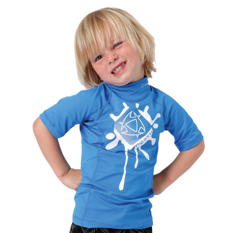 MYSTIC(ミスティック) Star Kids Rashvest ラッシュガード キッズ 半袖 UVカット [35001.120310] ジュニア マリンスポーツウェア ラッシュガード
