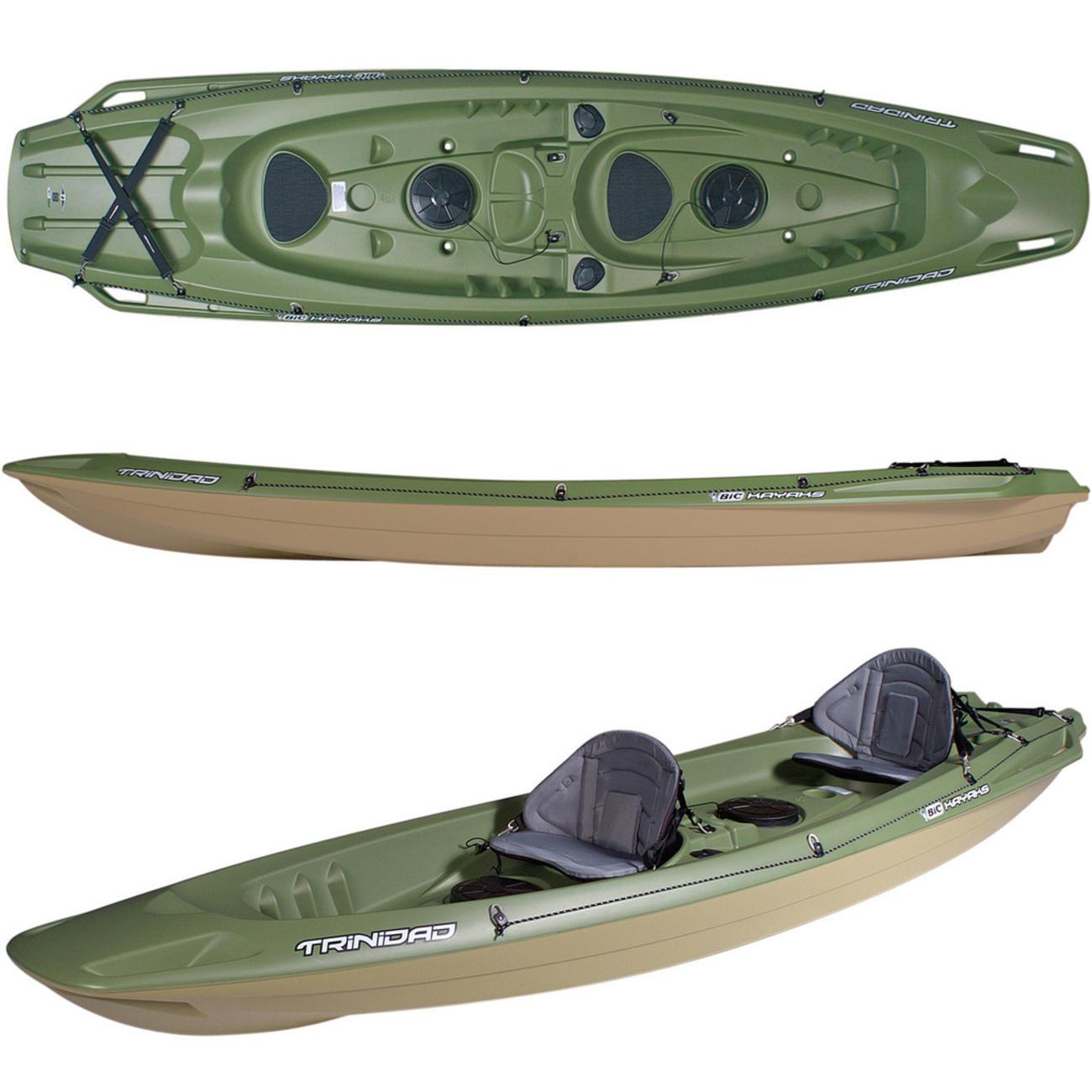 Trinidad Fishing Green 2人乗りフィッシングカヤック