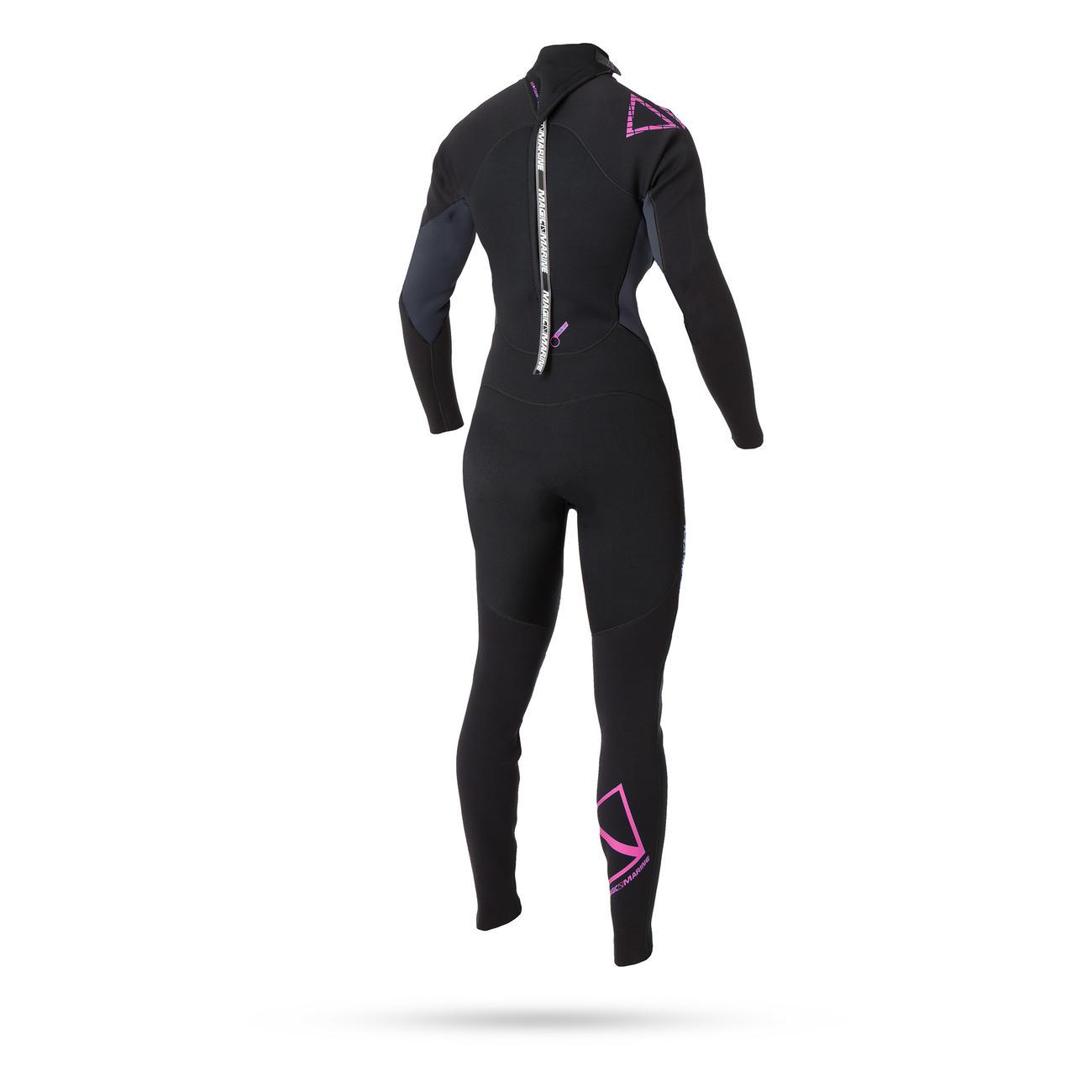 BRAND FULLSUIT 5/4 back-zip | women