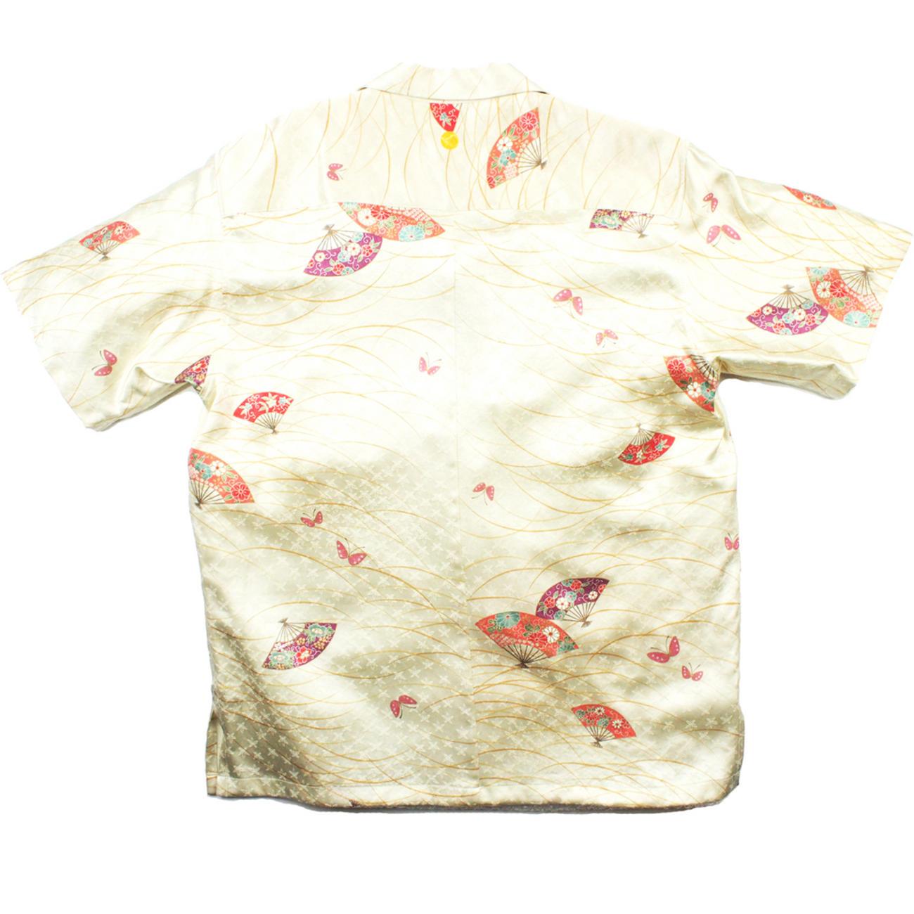 大きいサイズの和柄アロハシャツ OGI