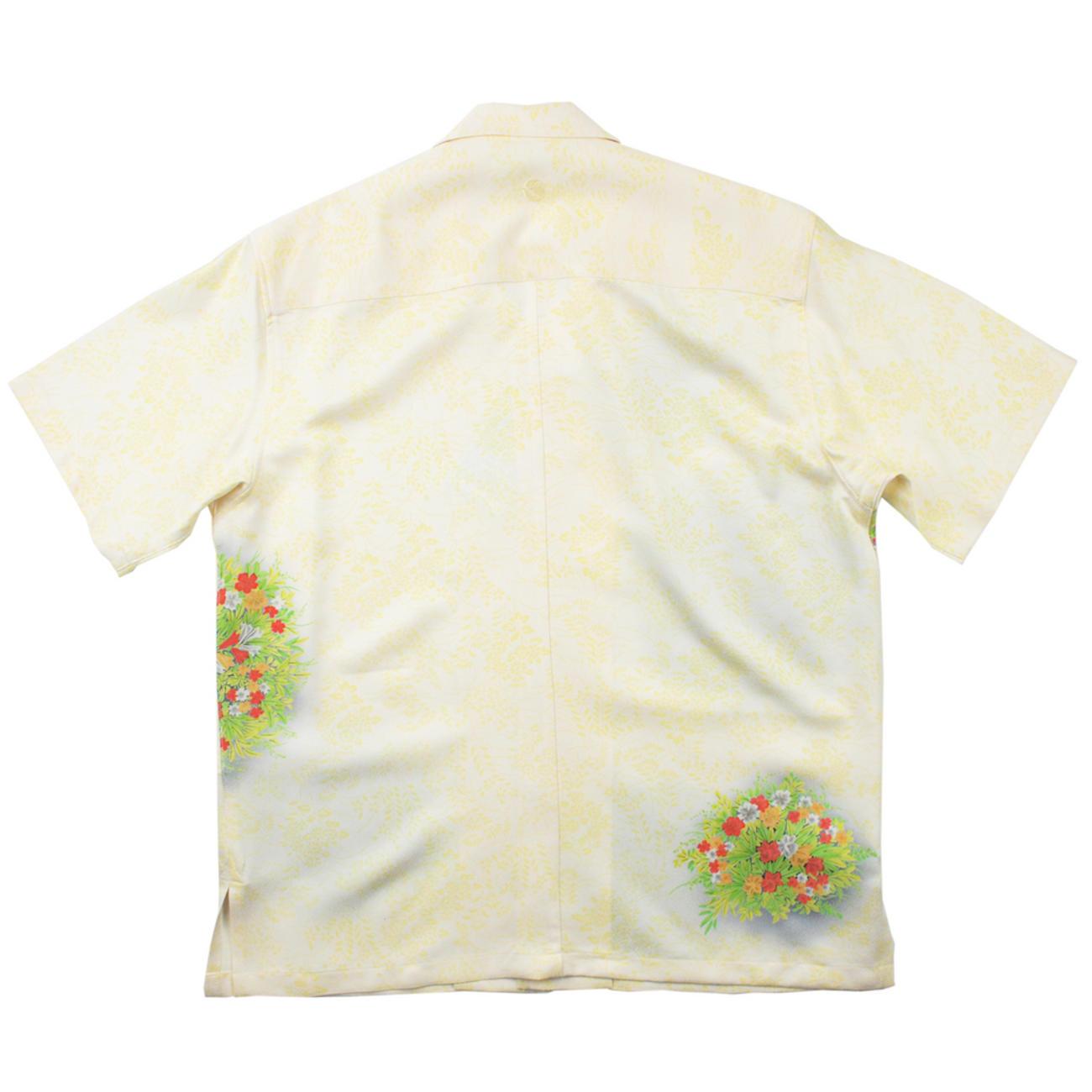 大きいサイズの和柄アロハシャツ TESSENKA S