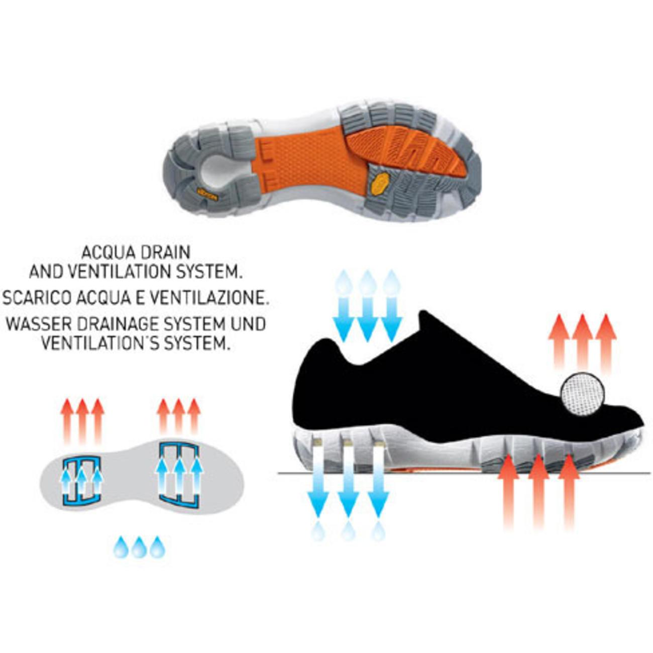 Crew Shoe / Black/White [正規輸入品]