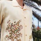 大きいサイズの和柄アロハシャツ HAGI M