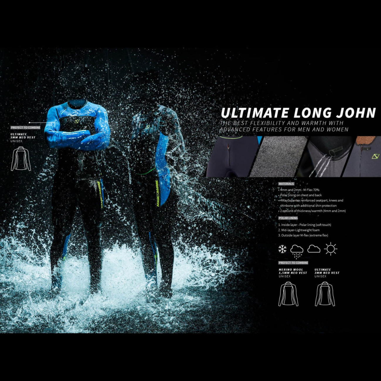 ULTIMATE LONG JOHN 4mm | women